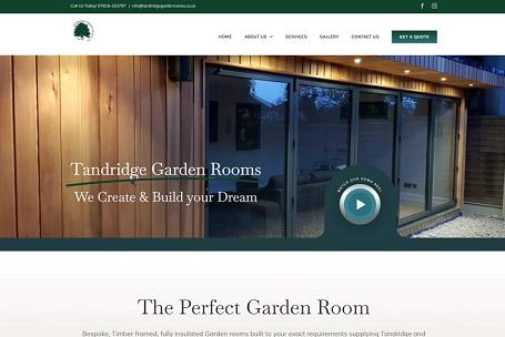 tandridge garden rooms
